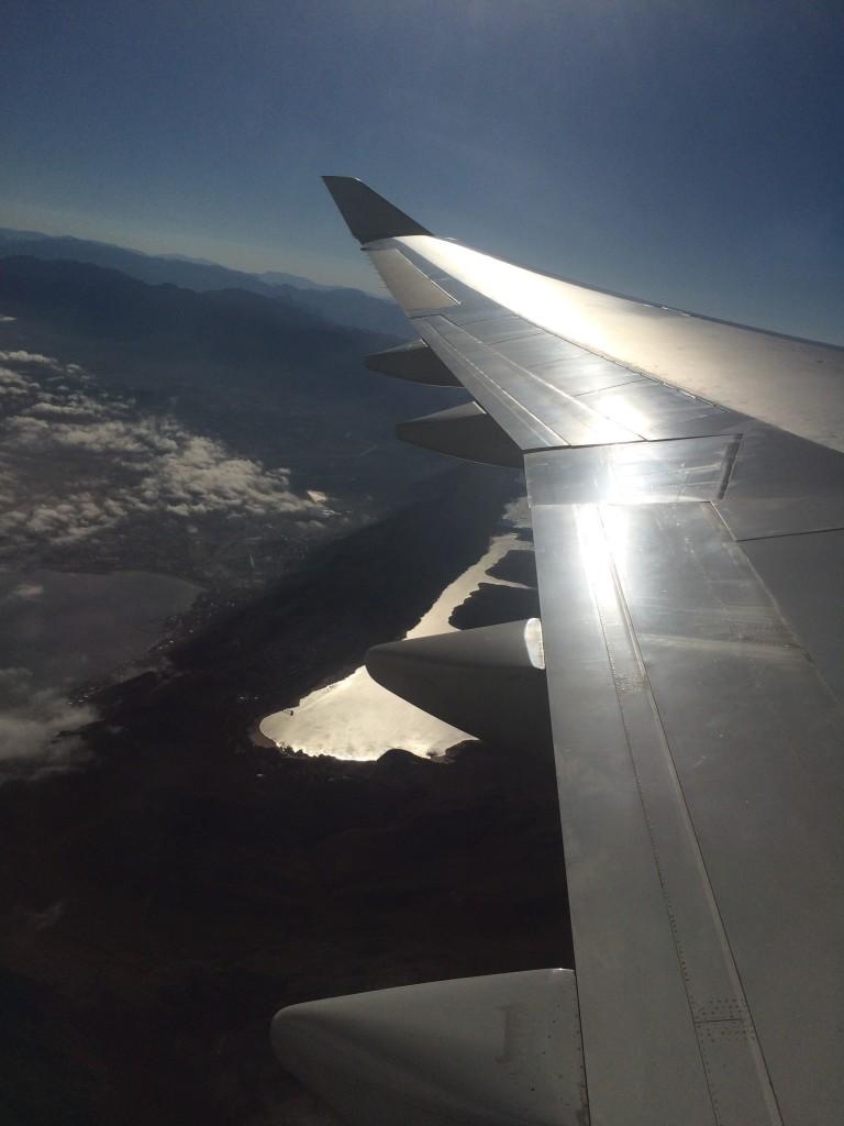 Anflug auf Cape Town