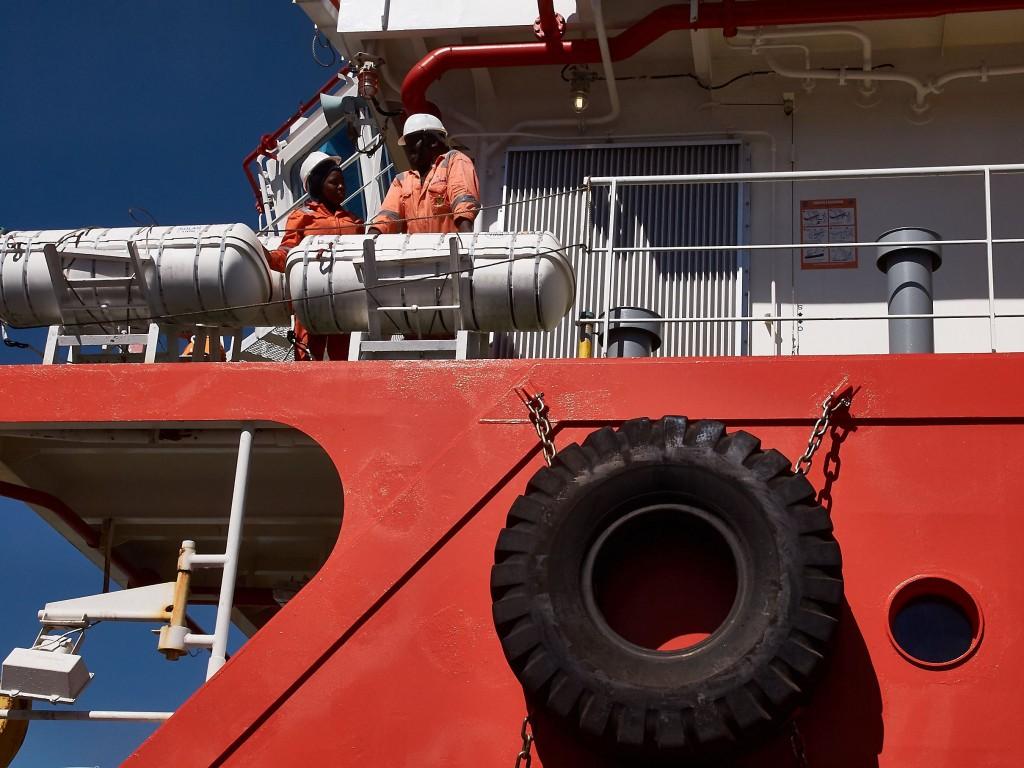 Cape Town shipyard worker