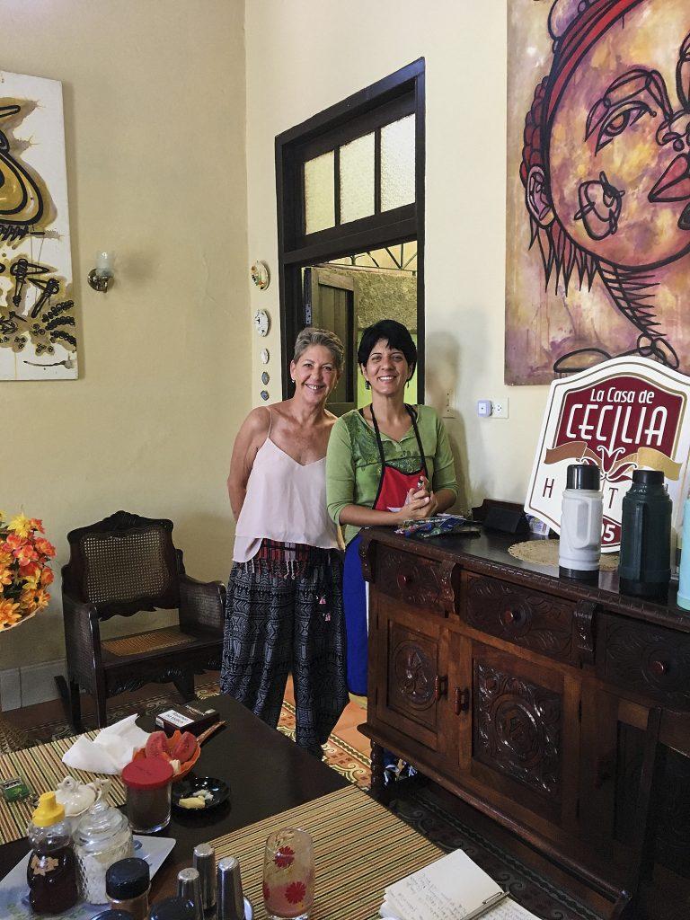 Unsere Gastgeberin Dahlia Hat Uns Herzlich Und Gastfreundlich Empfangen.