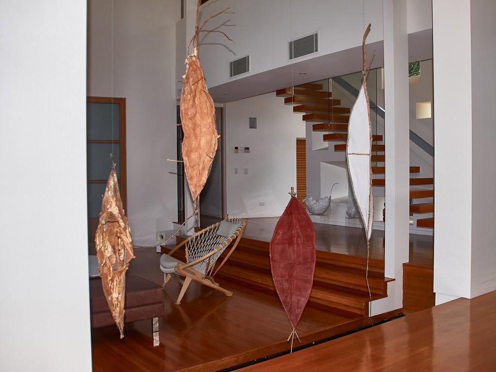 Das Haus ein Kunstobjekt für sich....
