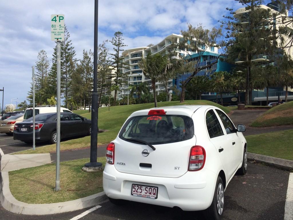 Mein Flitzer in Queensland